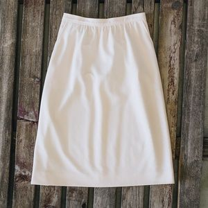Givenchy Sport Cream White Skirt Size 10